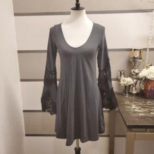 Express-Bell Sleeve Dress